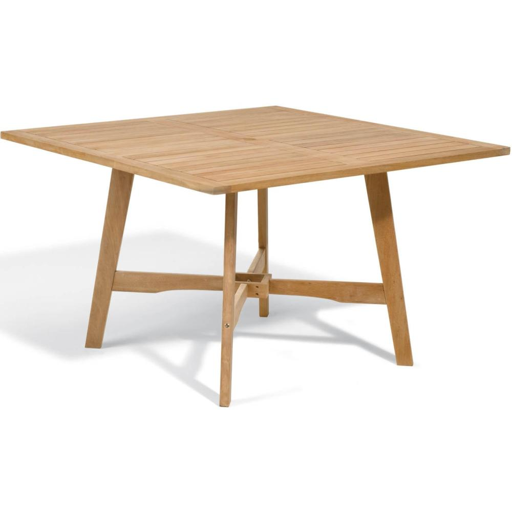 Image of: Popular Wood Patio Dining Table