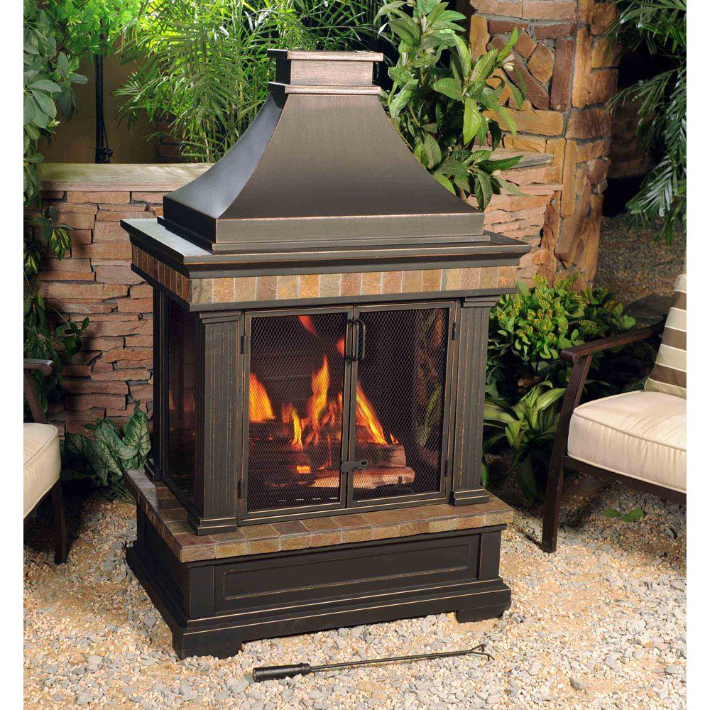 Picture of: Portable Outdoor Fireplace Image
