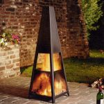 Portable Outdoor Fireplace Photo