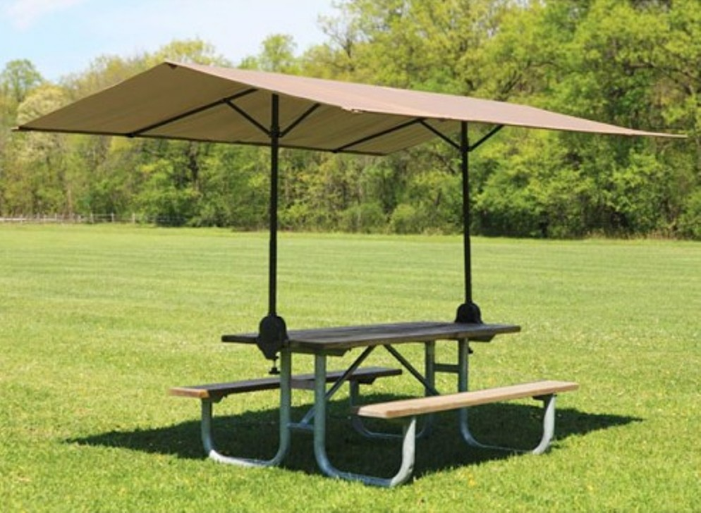 Image of: Portable Picnic Table and Chair Set