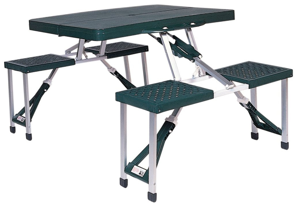 Image of: Portable Picnic Table and Chair