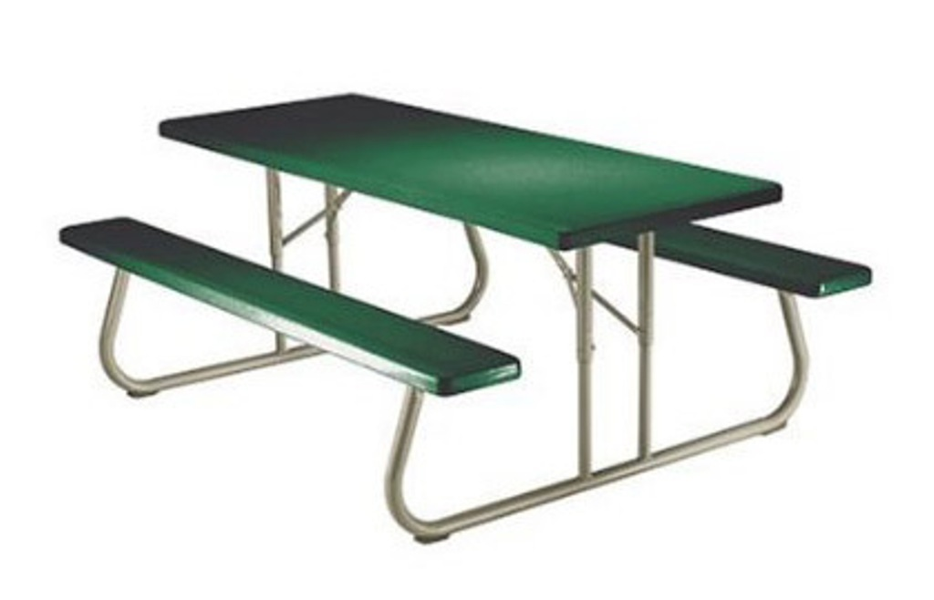Image of: Portable Picnic Table with Seats