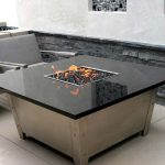 Propane Firepit Table Granite