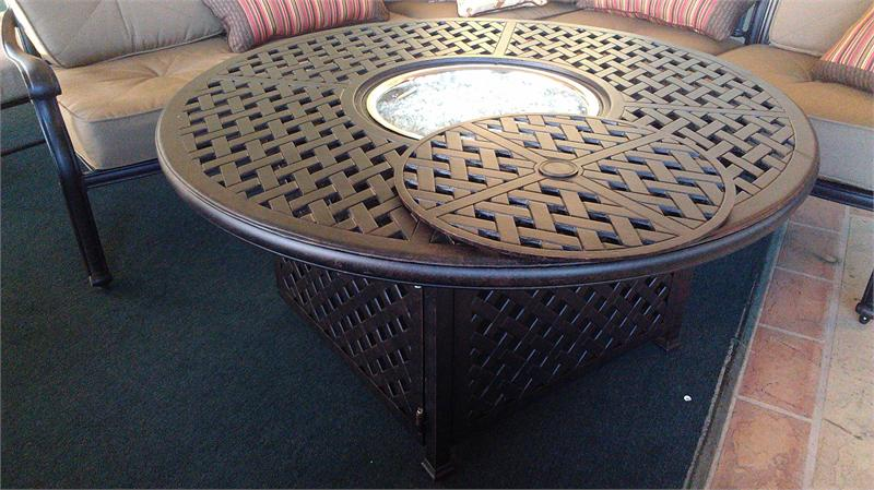 Picture of: Propane Firepit Table Type