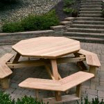 Round Pallet Picnic Table