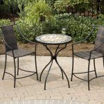Round Patio Bistro Table