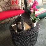 Round Patio Coffee Table Material