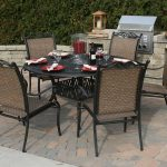Round Patio Dining Table Glass