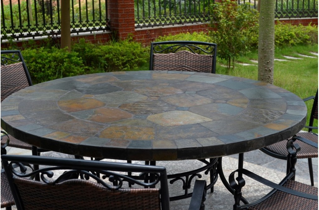 Picture of: Round Patio Dining Table Sets