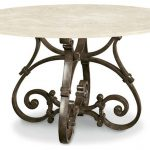 Round Patio Dining Table With Fire Pit