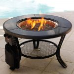 Round Propane Firepit Table