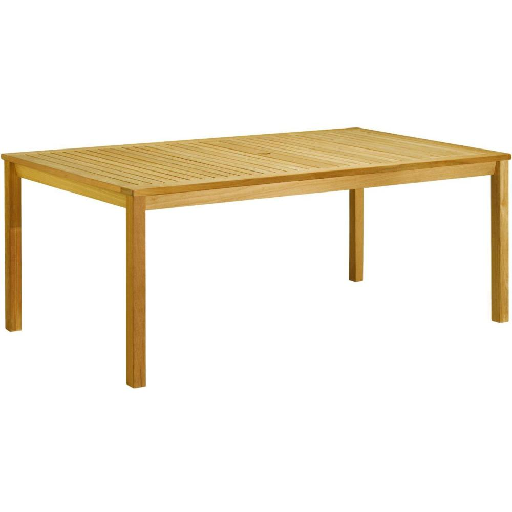 Picture of: Simple Wood Patio Dining Table