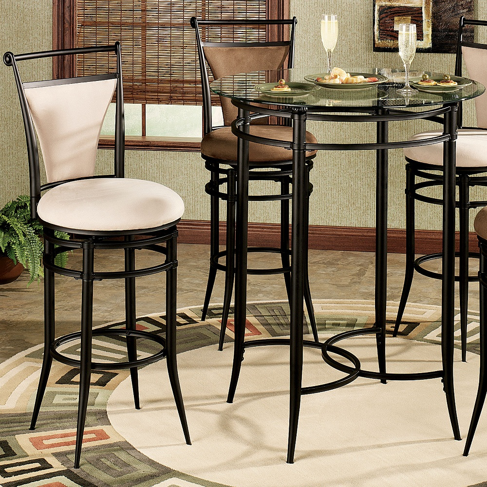 Image of: Small Patio Bar Height Table and Chairs