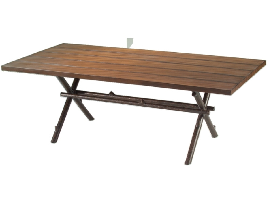 Image of: Small Rectangular Patio Dining Table