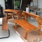 Solid Cedar Picnic Table