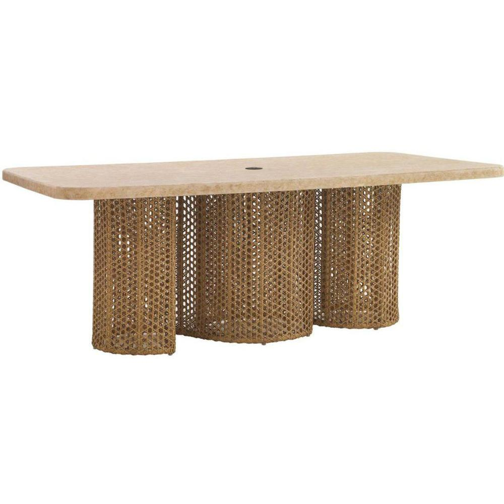 Picture of: Stylish Wicker Patio Dining Table