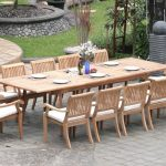 Teak Patio Dining Table And Chairs