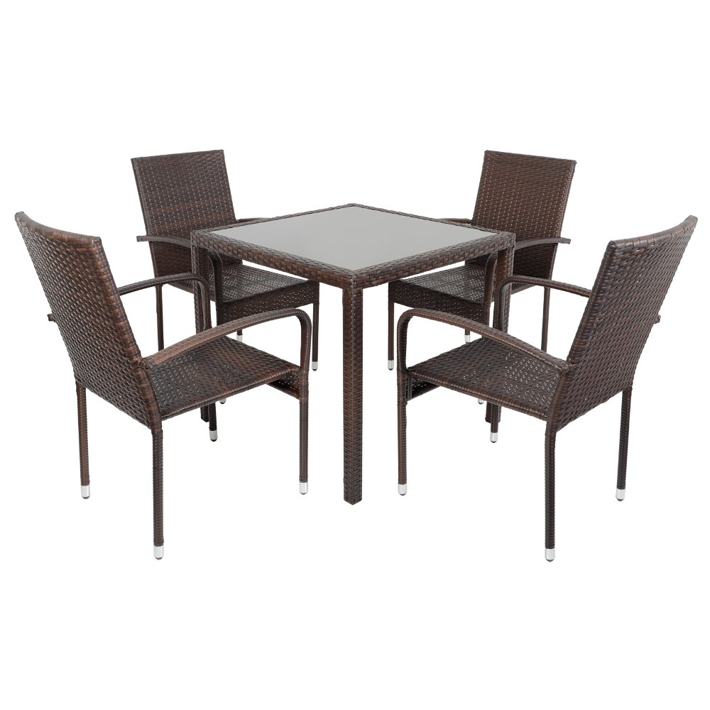 Picture of: Wicker Patio Dining Table Ideas