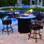Wonderful Firepit Dining Table