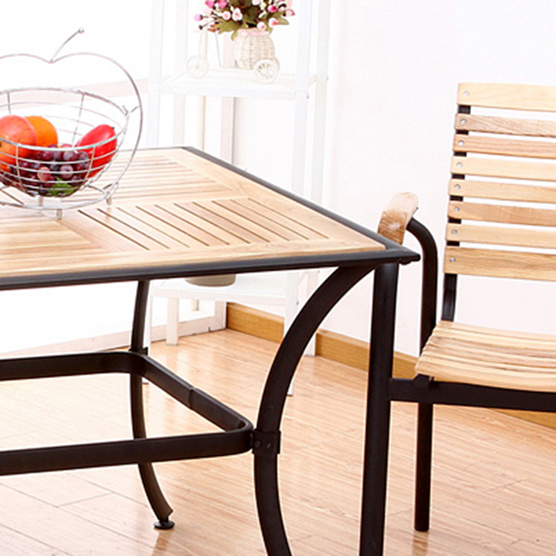 Picture of: Wrought Iron Patio Coffee Table Image