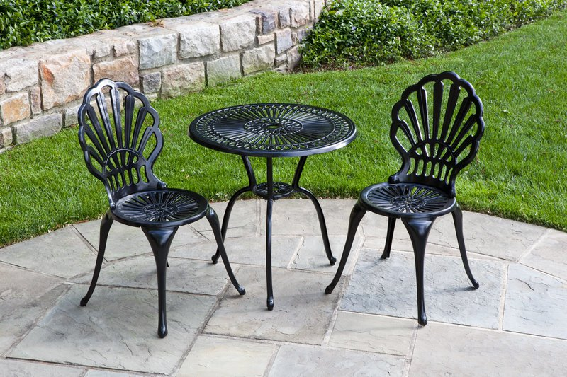 Picture of: Wrought Iron Patio Dining Table Furniture