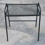 New Ideas Metal Patio Side Table And Heygreenie Vintage Wire Mesh Patio Side Table Es Sold 28