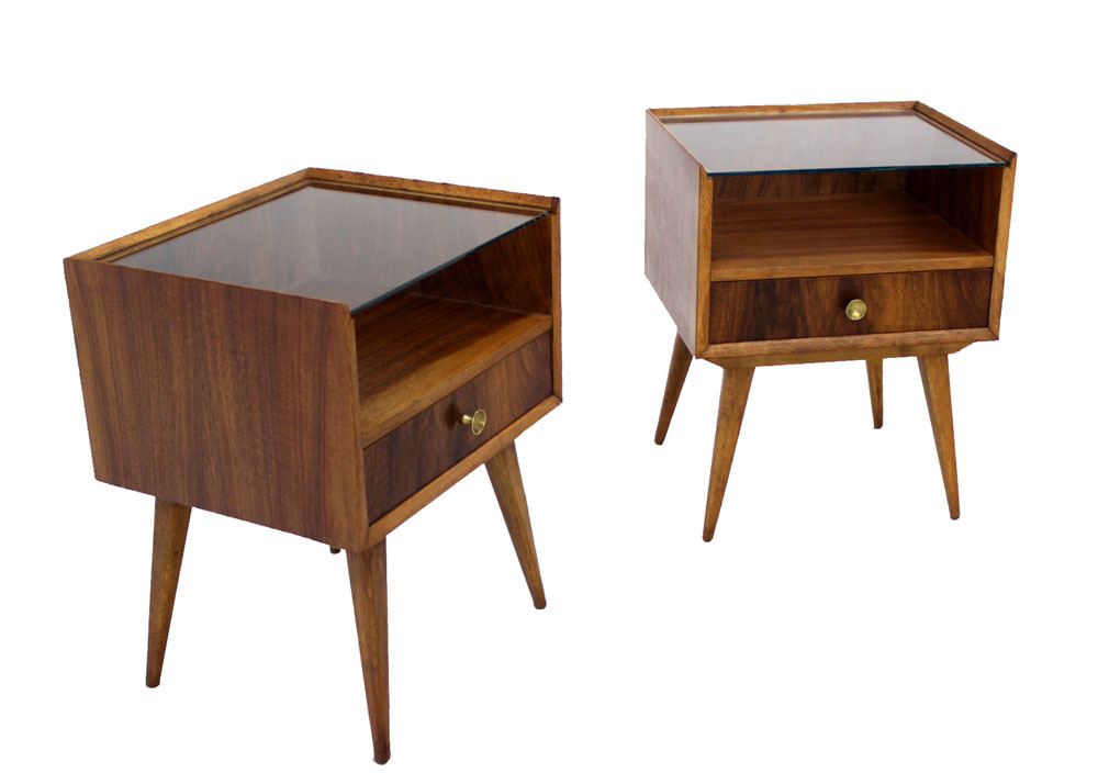 Image of: Mid Century Modern End Tables Picture