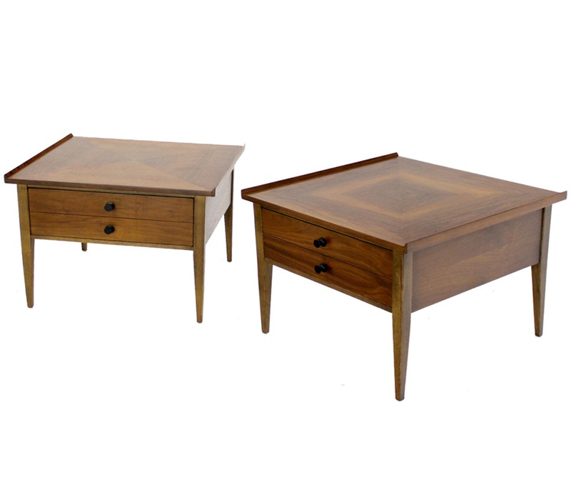 Picture of: Simple Mid Century Modern End Tables
