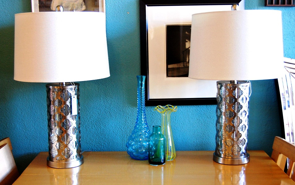 Image of: Best Mercury Table Lamp