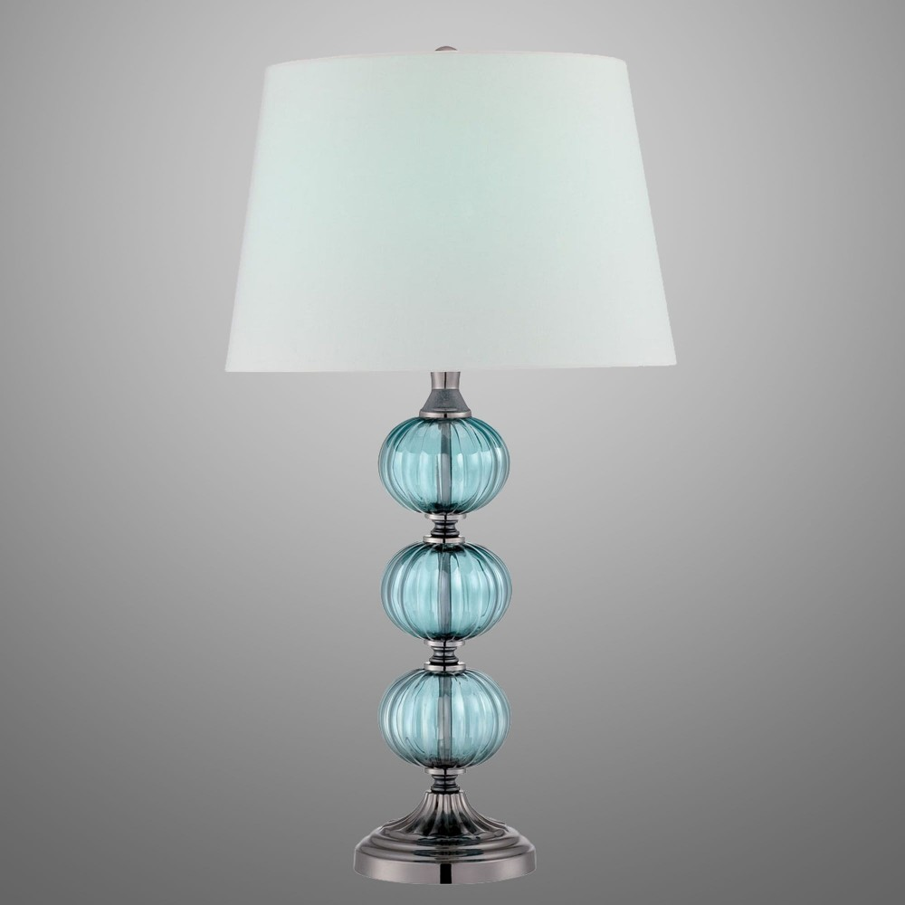 Image of: Best Turquoise Table Lamp