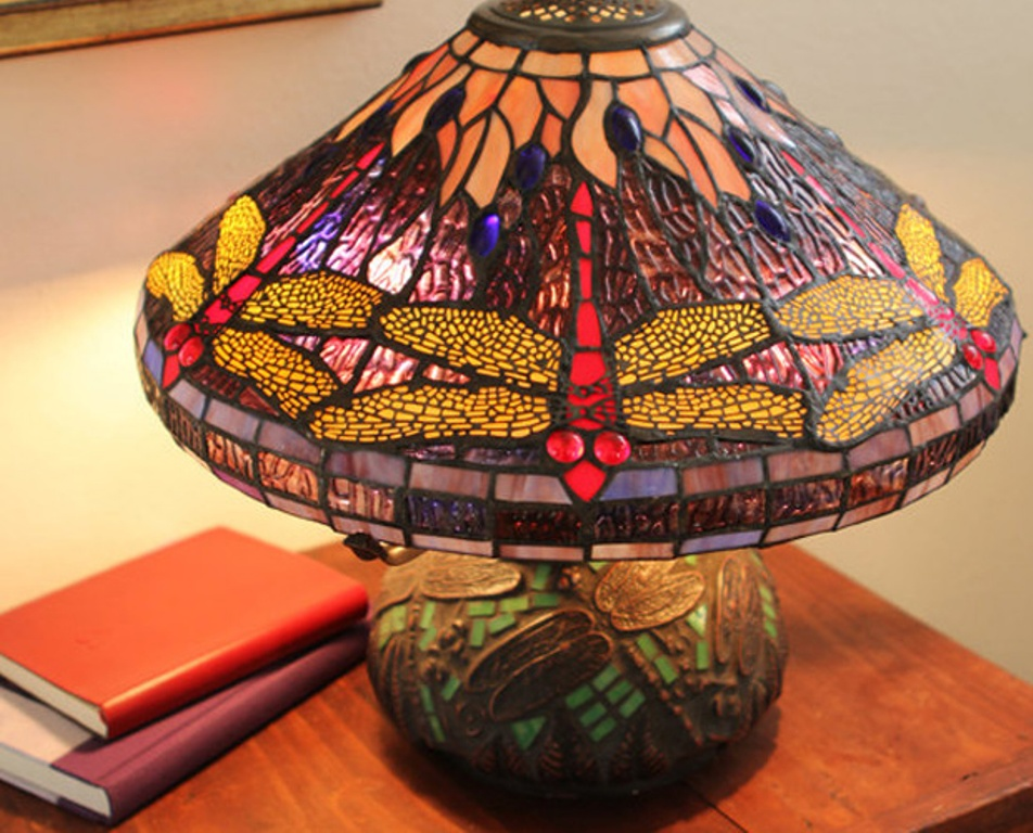 Image of: Dale Tiffany Table Lamps Antique