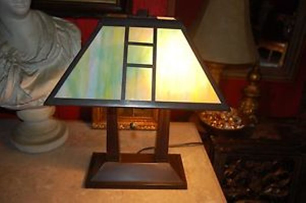 Picture of: Dale Tiffany Table Lamps Mission