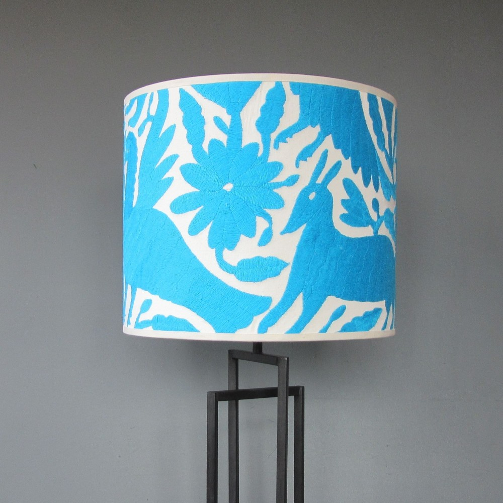 Picture of: Modern Turquoise Table Lamp