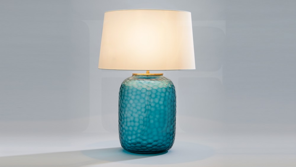 Image of: Popular Turquoise Table Lamp