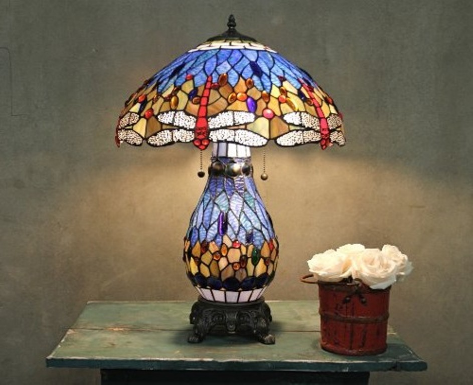 Image of: Stylish Dale Tiffany Table Lamps