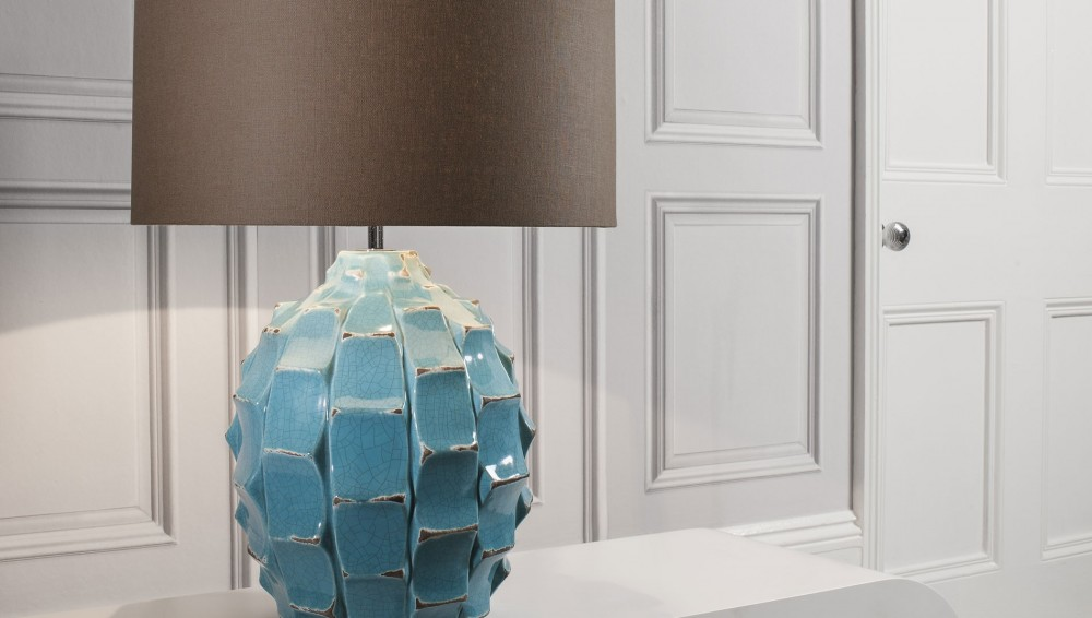Picture of: Top Turquoise Table Lamp