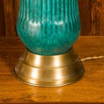 Unique Turquoise Table Lamp