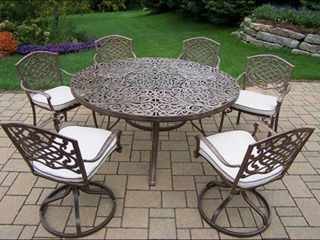 Image of: 60 Inch Round Patio Table Cloth