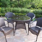 60 Inch Round Patio Table Design