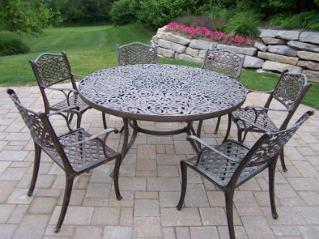 Image of: 60 Inch Round Patio Table Top