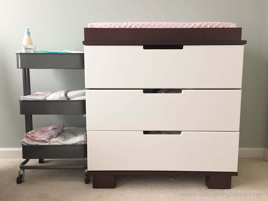 Image of: Baby Changing Table and Dresser