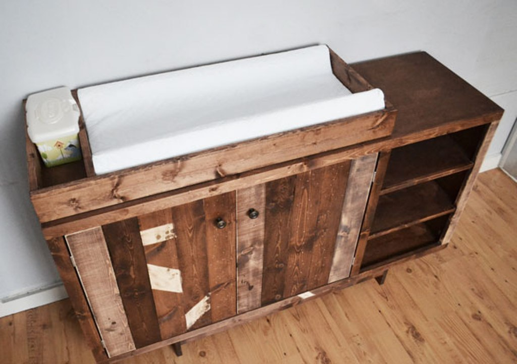 Image of: Baby Dresser Changing Tables Combo