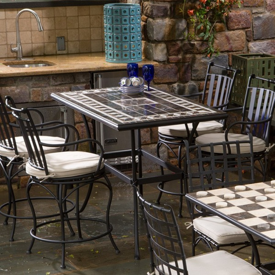 Image of: Bar Height Patio Tables Furniture