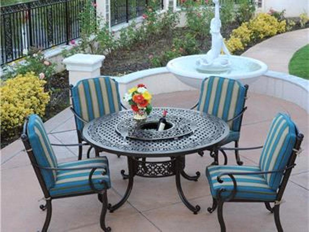 Image of: Best 60 Inch Round Patio Table