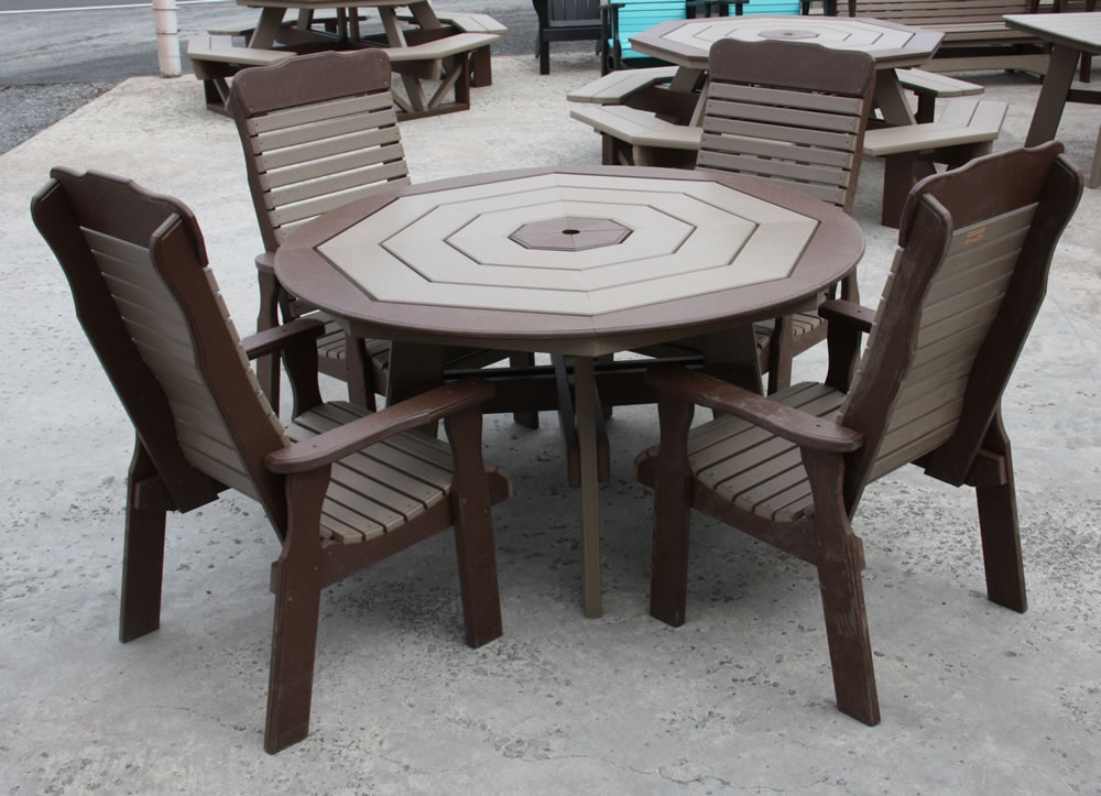 Image of: Best Octagon Patio Table