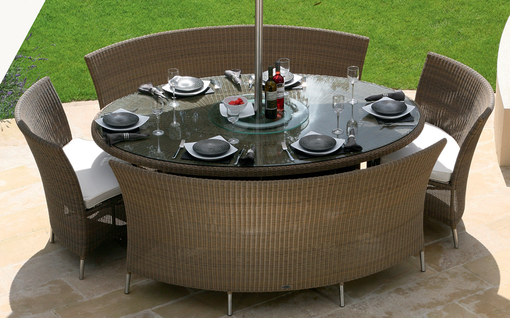 Image of: Best Oval Patio Table Design