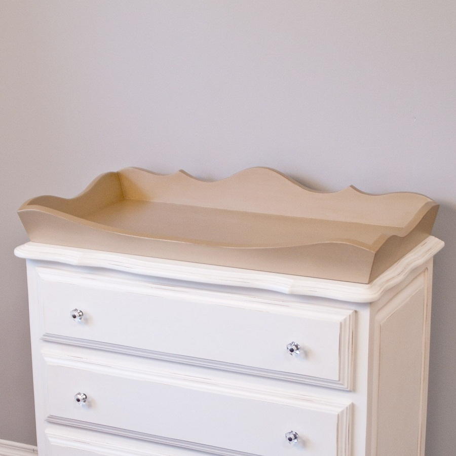 Image of: Changing Table Tray Design