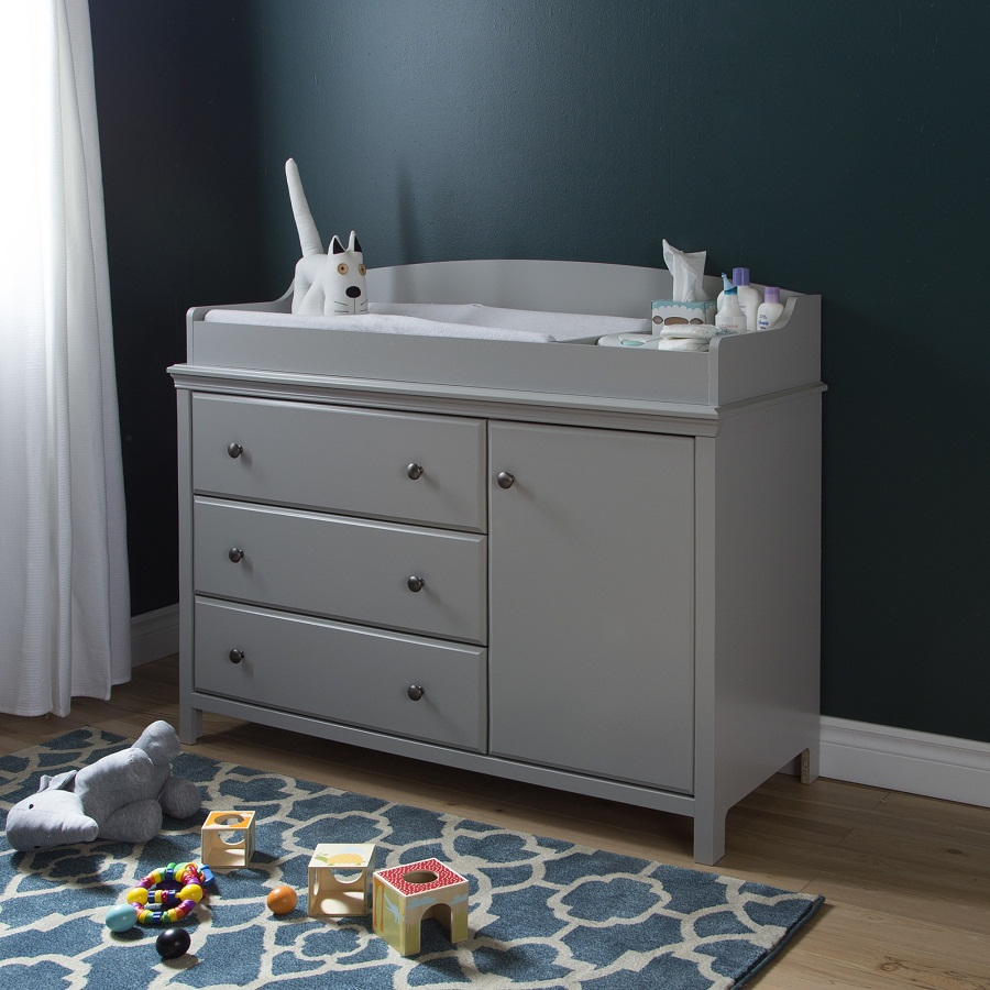 Image of: Changing Table Tray Paint