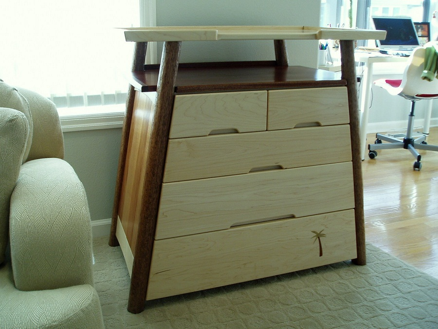 Image of: Changing Table and Dresser Design