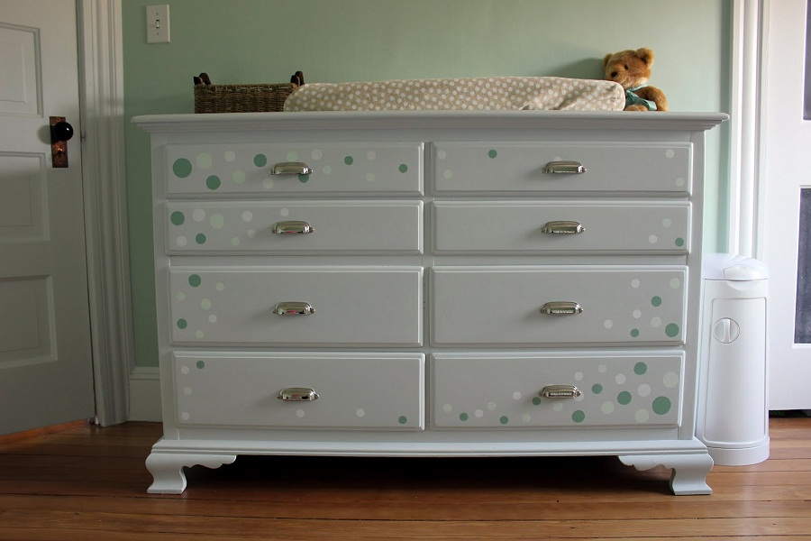 Image of: Changing Table and Dresser Furniture